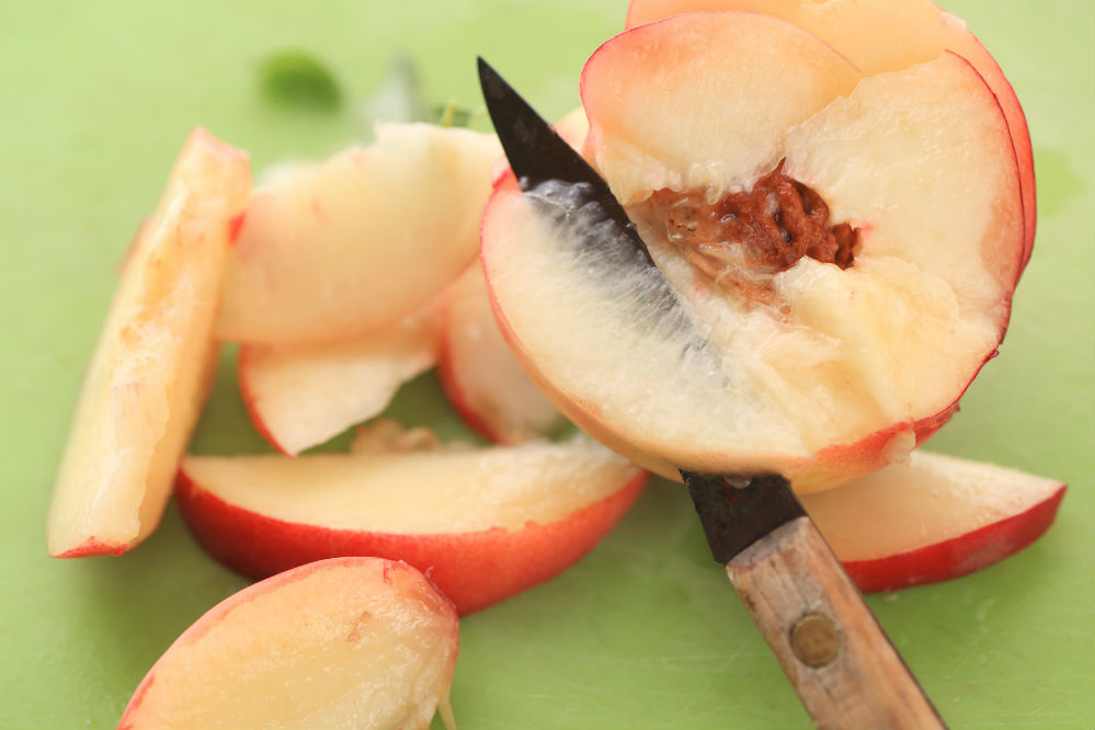 Paring Knife slicing fruit